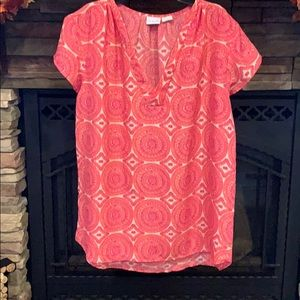 All for Color short sleeve blouse